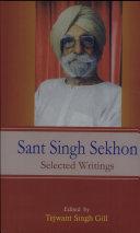 Sant Singh Sekhon ebook