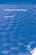 Revival  Textbook of Psychiatry  1924