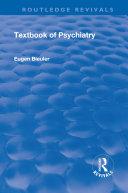 Revival: Textbook of Psychiatry (1924) [Pdf/ePub] eBook