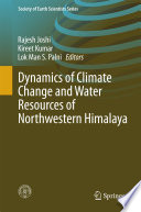 Dynamics Of Climate Change And Water Resources Of Northwestern Himalaya Book PDF