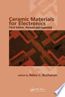 Ceramic Materials for Electronics