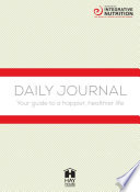 Integrative Nutrition Daily Journal