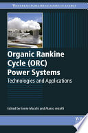 Organic Rankine Cycle (ORC) Power Systems