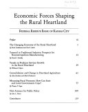 Economic Forces Shaping the Rural Heartland