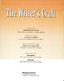 The Writers Craft