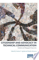 Citizenship and Advocacy in Technical Communication Book