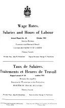 Taux de Salaire, Traitements, Et Heures de Travail