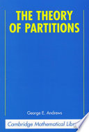 The Theory of Partitions - George E  Andrews - Google Books