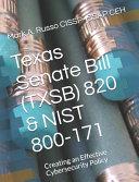 Texas Senate Bill  TXSB  820   NIST 800 171