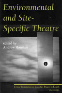 Environmental And Site Specific Theatre PDF