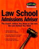 Law School Admissions Adviser