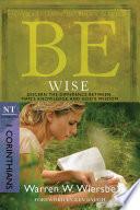 Be Wise  1 Corinthians  Book PDF