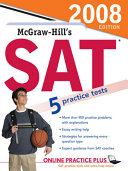 McGraw Hill s SAT  2008 Edition book only