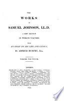 THE WORKS OF SAMUEL JOHNSON  LL D  Book