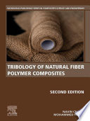 Tribology of Natural Fiber Polymer Composites Book