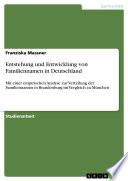 Entstehung und Entwicklung von Familiennamen in Deutschland
