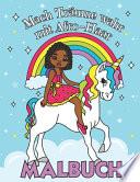 Mach Träume Wahr mit Afro Haar - Malbuch