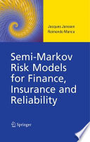 Semi Markov Risk Models for Finance  Insurance and Reliability