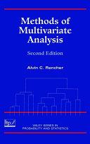 Methods of Multivariate Analysis [Pdf/ePub] eBook
