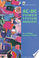 Ac Dc Power System Analysis Book PDF