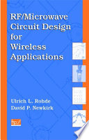 RF Microwave Circuit Design for Wireless Applications Book