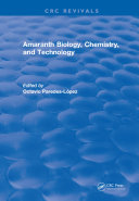 Amaranth Biology, Chemistry, and Technology ebook