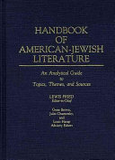Handbook of American Jewish Literature Book PDF