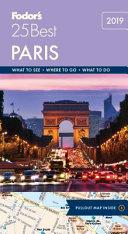 Fodor s Paris 25 Best