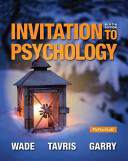 Invitation to Psychology Plus NEW MyPsychLab with Pearson EText    Access Card Package