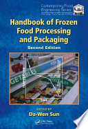 Handbook Of Frozen Food Processing And Packaging Second Edition Book PDF