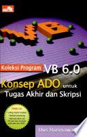 Koleksi Prog Vb 6 Konsep Ado Skripsi +cd