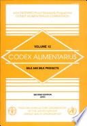 Codex Alimentarius: Milk and milk products