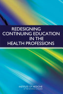 Redesigning Continuing Education in the Health Professions Pdf/ePub eBook