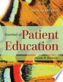 Essentials of Patient Education Book PDF