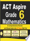 ACT Aspire Grade 6 Mathematics