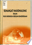 Semangat nasionalisme dalam puisi sebelum kemerdekaan