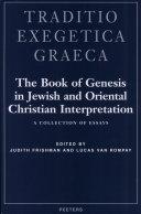 The Book of Genesis in Jewish and Oriental Christian Interpretation