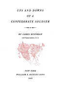 Ups and Downs of a Confederate Soldier