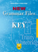 New Grammar Files. Key