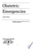Obstetric emergencies