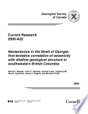Geological Survey of Canada, Current Research (Online) no. 2000-A22