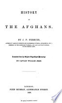 History of the Afghans Book PDF
