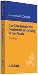 Cover image of Die Gesellschaft mit beschränkter Haftung in der Praxis