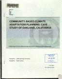 Community-based Climate Adaptation Planning