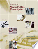 Introduction to Medical Office Transcription Package w/ Audio Transcription CD