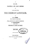 New  Practical  and Easy Method of Learning the German Language Book