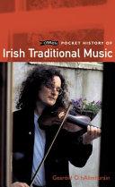 O'Brien Pocket History of Irish Traditional Music