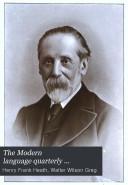 The Modern Language Quarterly