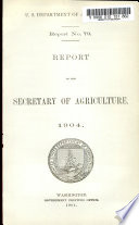 Report United States Department Of Agriculture