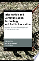 Information And Communication Technology And Public Innovation